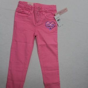 Celebrity Pink Little Girls Jeans Pants Pink 5